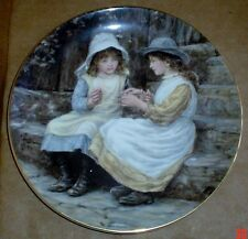 Wedgwood Collectors Plate YESTERDAYS CHILD - CATS CRADLE