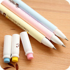 2X Kawaii Cute Rubber erasable gel pen 0.5mm Students'  Gift Pretty MW