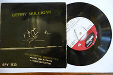 "GERRY MULLIGAN""CALIFORNIA CONCERTS-disco 45 giri  VOGUE UK 1961"