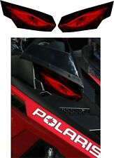POLARIS RUSH PRO RMK 600 700 800 INDY ASSAULT 155 163 HEADLIGHT  DECAL STICKER 2