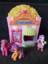 My Little Pony Popcorn Movie Theatre & 3 Ponies 2007