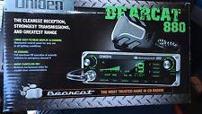 Uniden Bearcat 880 40 Channel CB Radio w/ Multi Color Backlit Control NEW