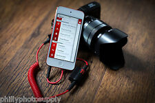 TriggerTrap Canon 3 Pin - Trigger your camera from your iOS or Android device