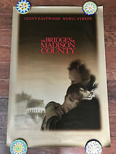 THE BRIDGES OF MADISON COUNTY 27X40 DS MOVIE POSTER ONE SHEET NEW AUTHENTIC