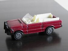 Vintage 007 Octopussy James Bond Range Rover Convertible Corgi Juniors Model Car