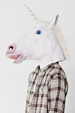 Archie McPhee Magical Unicorn Latex Mask NWT New