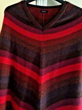 NOVICA WOMENS SWEATER CAPE Alpaca Wool Sz OS S M L XL Wear W Lularoe Leggings