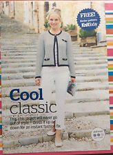 Ladies Chic Round Neck Jacket Knitting Pattern - DK - Sirdar from Knit today