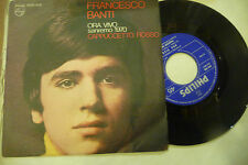 "FRANCESCO BANTI"" ORA VIVO-disco 45 giri PHILIPS It 1970"" SANREMO 1970"