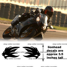 aprilia 2008 style lionhead decal sticker