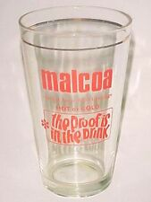 OLD EDITION - 1 x  Singapore drinking glass - Malcoa  (CA- #19)