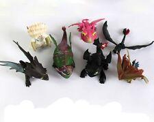 7 Piezas Como Entrenar A Tu Dragón Sin Dientes Minifigura Para Niños Muñecas