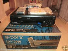 Sony SLV-T2000 Hi8 / VHS-Recorder, OVP & nagelneu, einmalige Chance, 2J.Garantie