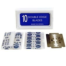 100 Crystal Double Edge Safety Razor Blades - AKA Israeli Personnas