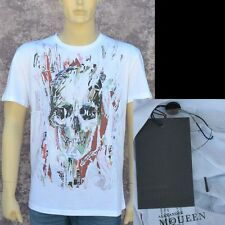 Alexander McQueen New sz XS Authentic Designer Mens Skull T-Shirt T Shirt