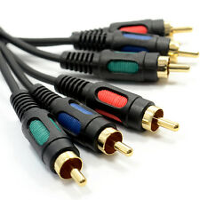 Video Componente Rgb YUV 3 Rca fonos Cable 3m