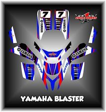 YAMAHA BLASTER 200 SEMI CUSTOM GRAPHICS KIT SANTOS
