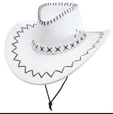 Fancy Western cow boy Cowboy/cowgirl hat /hats Party/costume Black/brown