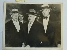 Vern Sankey Lindberg Suspect Kidnapper 4Gentleman Handcuffed Vintage Photo  HS