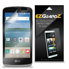 2X EZguardz LCD Screen Protector Skin Cover HD 2X For LG Optimus Zone 3 (Clear)