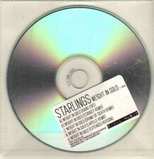 (CP782) Starlings, Weight In Gold - 2010 DJ CD