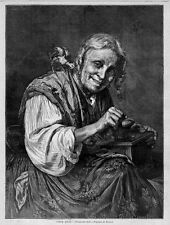 ANTIQUE COLLECTOR, RELICS OF ANTIQUITY, OLD WOMAN WITH TREASURE, ANTIQUARIANISM