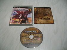 PS3 game - Uncharted 3 Drakes Deception (good condition complete PAL)