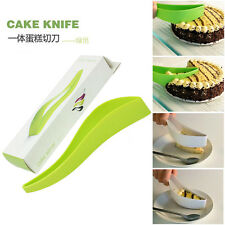 Cake Pie Slicer Sheet Guide Cutter Server Bread Slice Knife Kitchen Tool Gadget