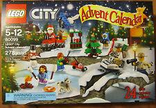 Lego 60099 2015 CITY ADVENT CALENDAR ~ 278 Pieces ~ 24 Unique Gifts