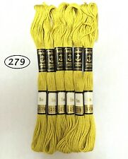 Anchor cotton pure pearl embroidery knitting thread skeins floss - Top color