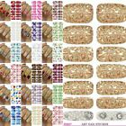 Beauty Adhesive Polish Nail Art Decals Foils Manicure Stickers Wraps Fashion HOT