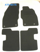 Tailored Black Car Mats  FLOOR MATS for VAUXHALL CORSA D VXR 2007 onwardsB1312