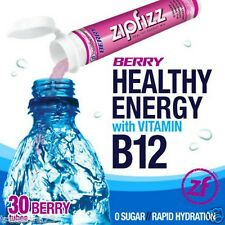 Zipfizz Healthy Energy Drink Mix Berry 30 Tubes