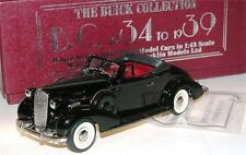 Brooklin BC 026, 1936 Buick Special Convertible Coupe M-46C black, 1/43