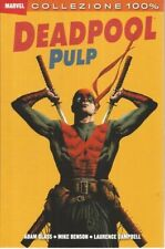 fumetto 100% MARVEL DEADPOOL PULP