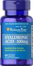 Hyaluronic Acid 100 mg x 60 Capsules  ** AMAZING PRICE **