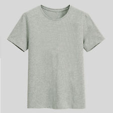 Big Men Casual 100% Cotton T Shirts Short Sleeve Loose Basic Tee Wear 4XL-12XL