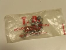 """Vintage TA - Ref 62 - NOS - """"Double"""" Chainring Nuts, Bolts, and Washers"""