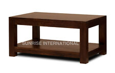 Dark Wood Small Size Coffee / Center Table (55W X 40D X 45H Cms)  !!