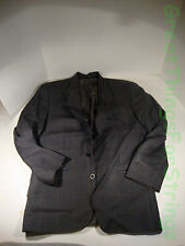 Torriani Today's Man Sport Coat Blazer Suit Jakcet 100% Pure Wool 39R Houndtooth