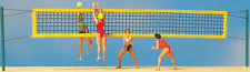 PREISER HO SCALE 1/87 BEACH VOLLEYBALL PLAYERS FIGURES | BN | 10528