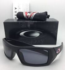 oakley military sunglasses rc9s  New OAKLEY Sunglasses GASCAN 11-192 60-15 Matte Black with USA Logos+