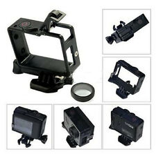For GoPro Hero4 3/ 3+ The Frame Mount Standard Protective Housing + w/UV Lens PS