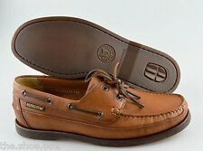 (R) - Men's MEPHISTO  'Boating' Leather Shoes  US 9 Eur 8.5  (Brown)