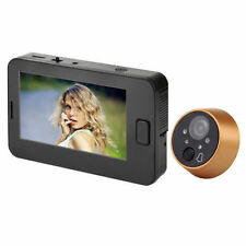 "4.3"" TFT LCD Digital Peephole Viewer 170 Degree Doorbell Video Color HD Camera"