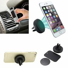 Universal Magnetic In Car Vent Mount Holder For Samsung Galaxy S7 S6 Edge+ S5 LG
