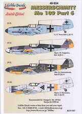Lifelike Decals 1/48 MESSERSCHMITT Me-109 Fighter Part 6
