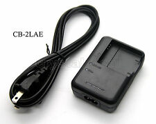 CB-2LAE Battery Charger for NB-8L Canon PowerShot A2200 A3000 A3100 A3200 A3300