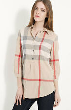 Burberry Brit Check Womens Tunic - size Medium - Pristine Condition - Authentic