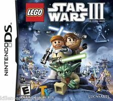 LEGO Star Wars III: The Clone Wars (Nintendo DS) NDS